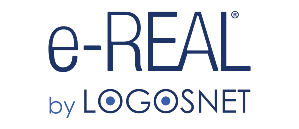 e-REAL by Logosnet logo
