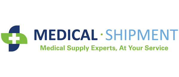 Medical Shipment logo, Medical Supply Experts, At Your Service